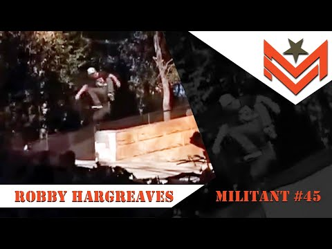 Mini Logo Official MILITANT #45 - Robby Hargreaves