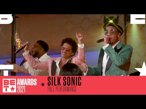 Silk Sonic Are A Dynamic Duo In 'Leave The Door Open' Performance   BET Awards 2021