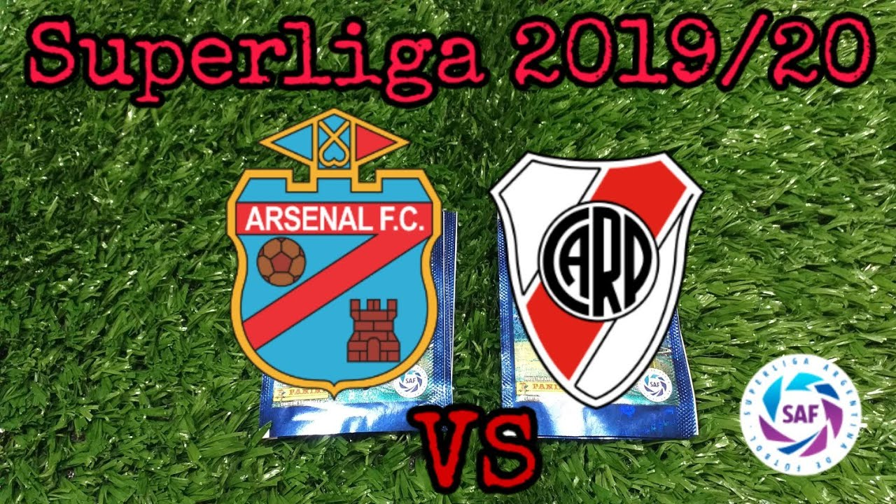 #5 Desafio Superliga Argentina 2019/20 (Arsenal VS River Plate)