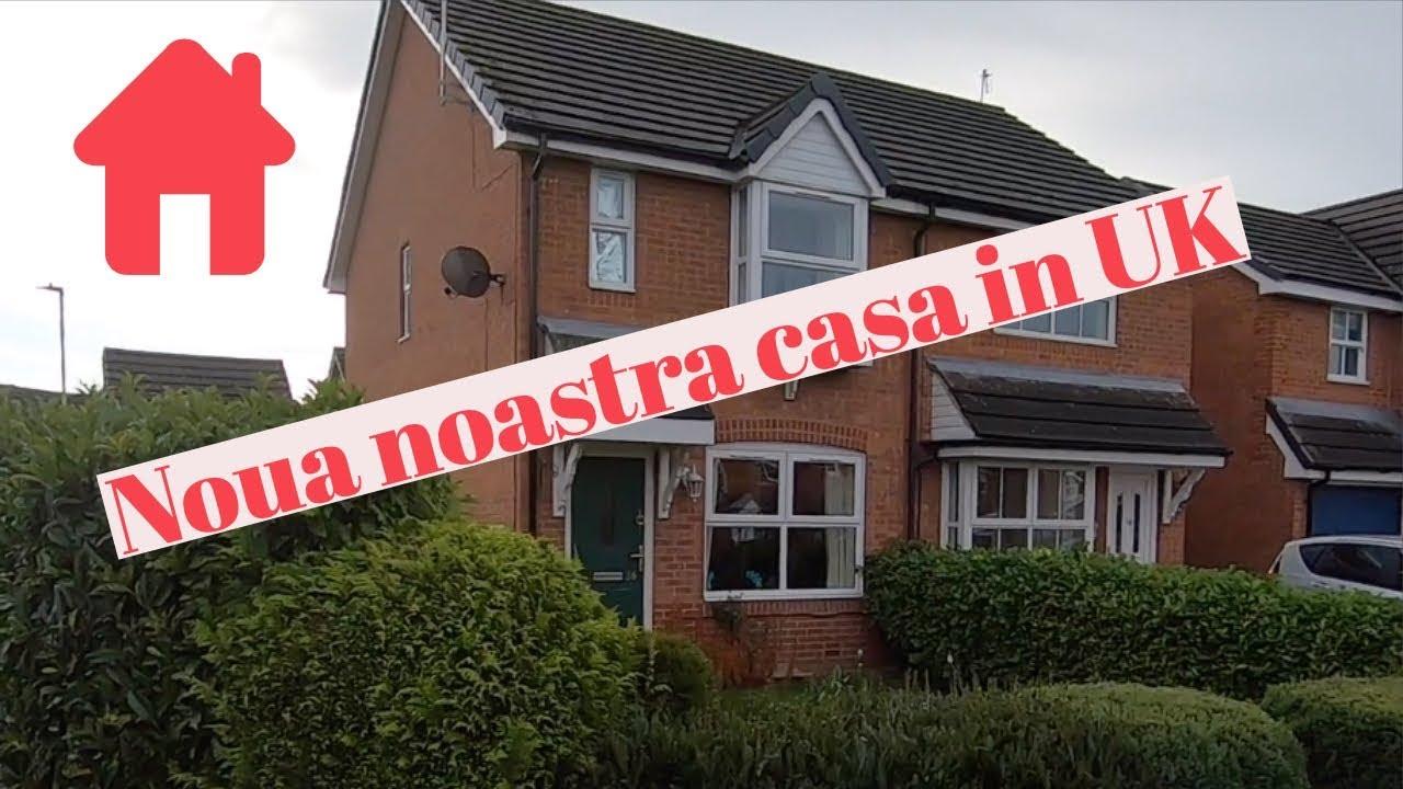 #vlog41 - Noua noastra casa in UK | Cat ne costa lunar