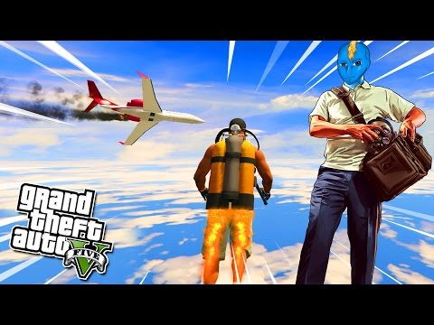 GTA 5 PC MODS : THE ULTIMATE JET-PACK MOD (GTA 5 FUNNY MODS)