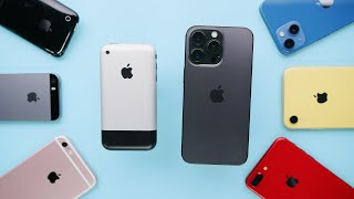 Reviewing EVERY iPhone Ever!