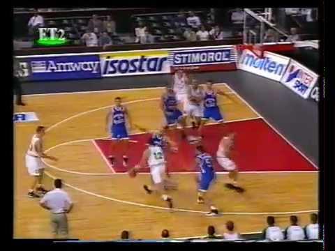 1997 Eurobasket quarter finals lithuania-yugoslavia