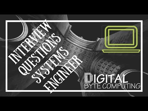 My Best Interview Questions For A Systems Engineer