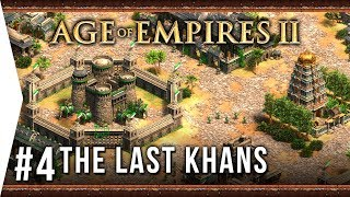 Tamerlane! ► Age of Empires 2: Definitive Edition - #4 Sultan of Hindustan - [The Last Khans]