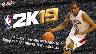 2K Games Pleads with Fans to Tell Belgian Government They Want Loot Boxes