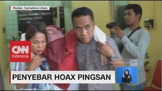 Dosen Penyebar Hoax Pingsan