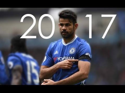 Diego Costa - All 20 Goals So Far 2016/17 - HD