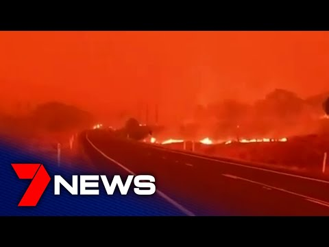 Six bushfires burn out-of-control around NSW and Canberra | 7NEWS