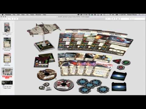 X-WING: WAVE 11 Scurry H-6 Bomber Expansion Pack Preview - X-Wing Miniatures - SPG