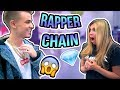 I BOUGHT A DIAMOND & GOLD RAPPER CHAIN!! (Craziest purchase of my LIFE)