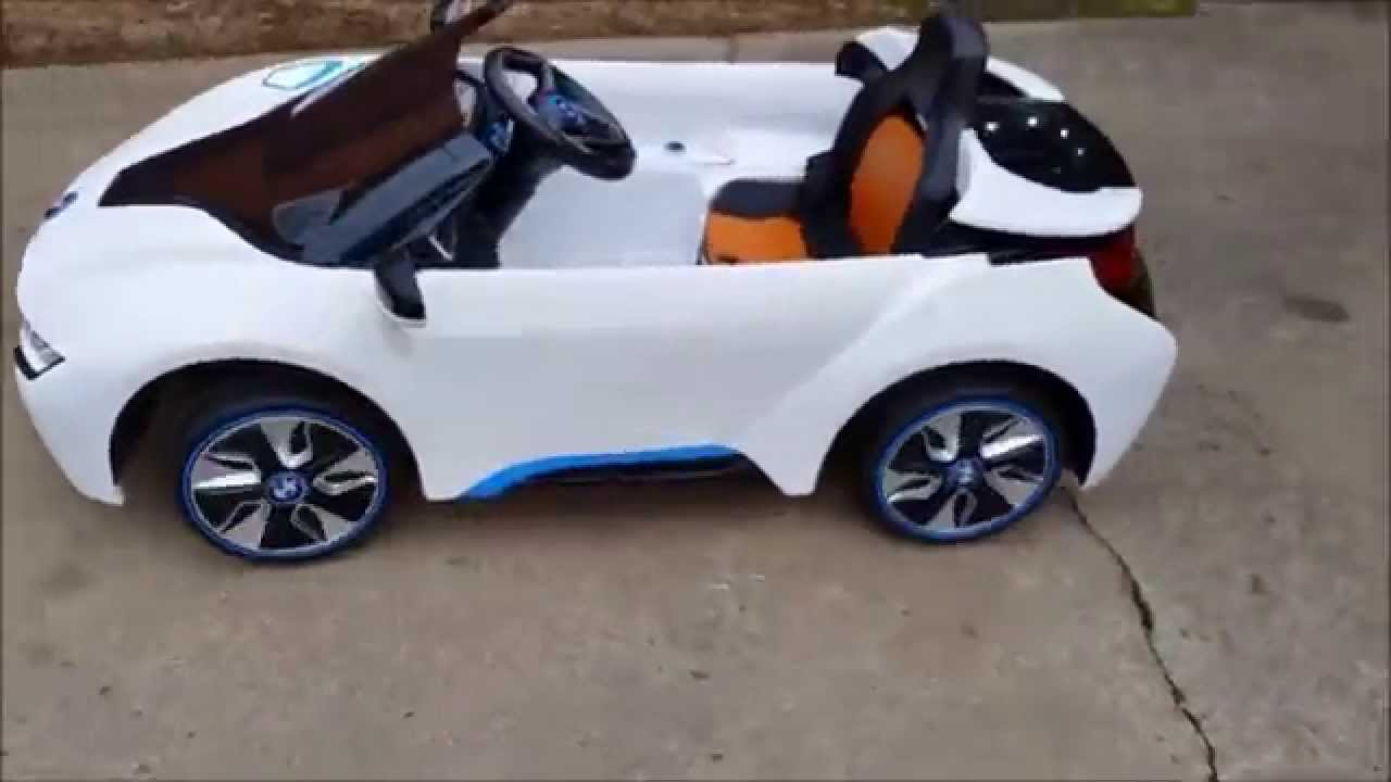 Avigo Bmw I8 >> BMW I8 Remote controlled Ride on car at www.bigtoysgreencountry.com - YouTube