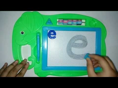 Thumbnail: abc | English Small Letter | English Small Alphabet Learning | How to Write on Magnetic Board
