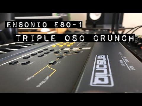 Ensoniq ESQ-1, Triple OSC Crunch !!!
