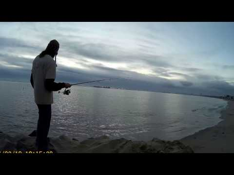 Pump and Fish! Ghost shrimp pumping + Fishing(Long Beach,CA)