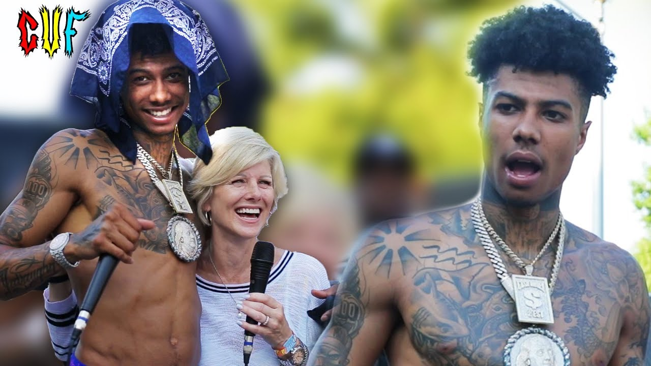 Mom Interviews Blueface