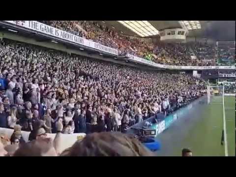Tottenham fans sing the We've got Alli, Dele Alli song