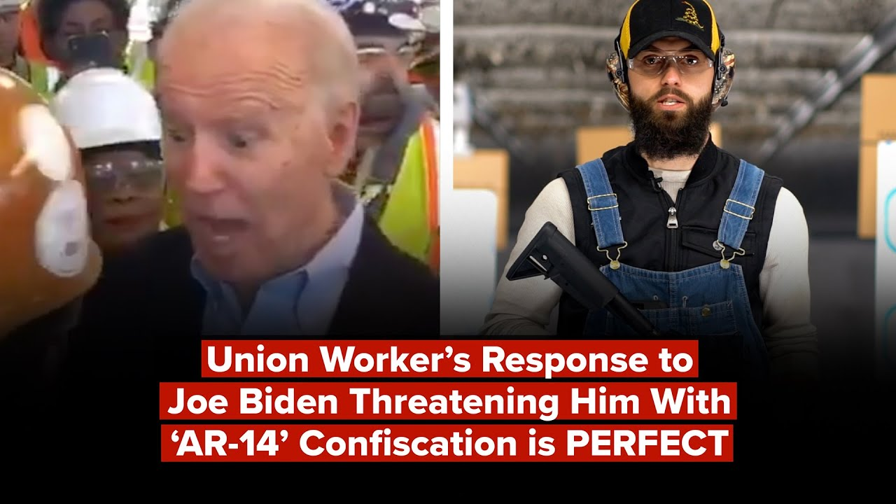 "Union Worker Responds to Biden's Threat Against ""AR-14"" Jerry Wayne"