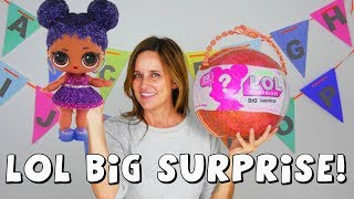 LOL Surprise BIG SURPRISE Dolls Ball Limited Edition Big and Lil Sis | 50 Surprises!