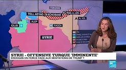 Syrie : la Turquie menace d'attaquer la zone kurde