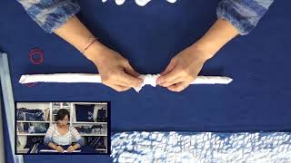 Indigo Dye Technique Tutorial 6