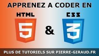 Cours Complet HTML CSS - Tutoriel pour Débutants et Confirmés [Partie 1/3] thumbnail