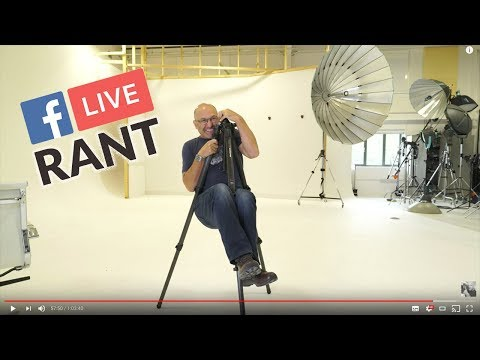 Karl Taylor discusses iPhoneX photo portrait mode! Really?, Manfrotto 57 tripod & Answers Questions