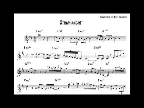 Michael Brecker Solo Transcription on Straphangin' (Brecker Brothers w/ WDR Big Band)