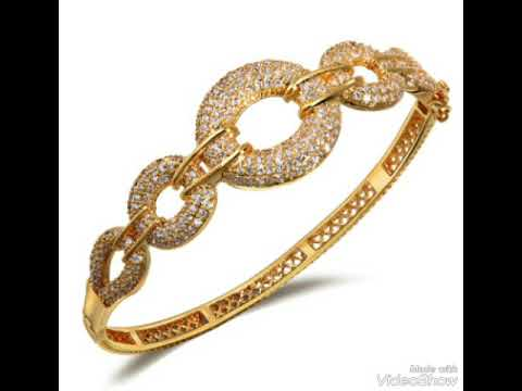 3b2e188d5 موضة احدث اساور الذهب موديلات في السعودية و دبي Fashion bracelets gold  models in Saudi Arabia