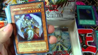 Best Yugioh Light Of Destruction 1st Edition Box Opening Ever!