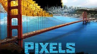 Пиксели \ Pixels (ужасы, фэнтези)