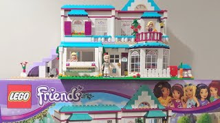 Lego Friends Stephanie's House 41314 Unboxing & Speed Build