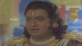 Sri Devi Mookambika Movie Scenes - Narada warns Devendra about Kaumasura - Sridhar