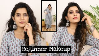 Step By Step Makeup Tutorial For - BEGINNERS | Makeup Under 500 Rs. | Super Style Tips