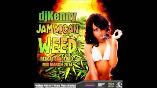 Dj Kenny Jamaican Weed Reggae Dancehall Mix March 2014