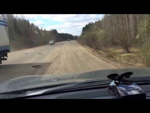 Дорога из Шарья в Кострому...