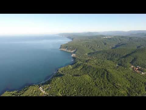 Черное море 2016 Голубая бухта пос. Бжид