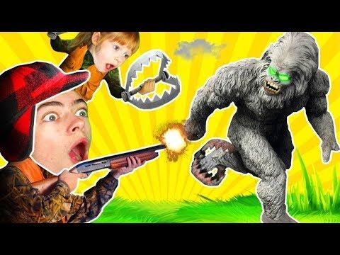 БИГФУТ ОН ПРИШЕЛ К НАМ В ГОСТИ В ИГРЕ Finding Bigfoot СЕКРЕТЫ СНЕЖНОГО ЧЕЛОВЕКА от SDVG