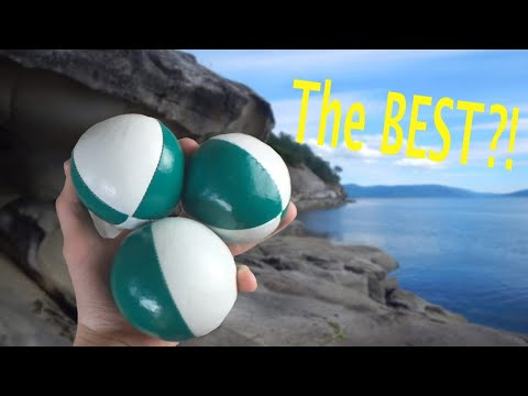 My FAVOURITE Juggling Balls!? HB Juggling Ball REVIEW