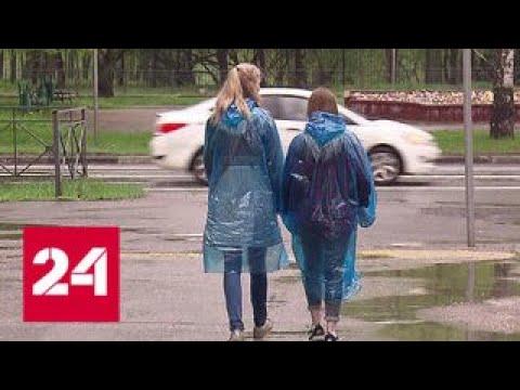 В Москве ожидается гроза с градом