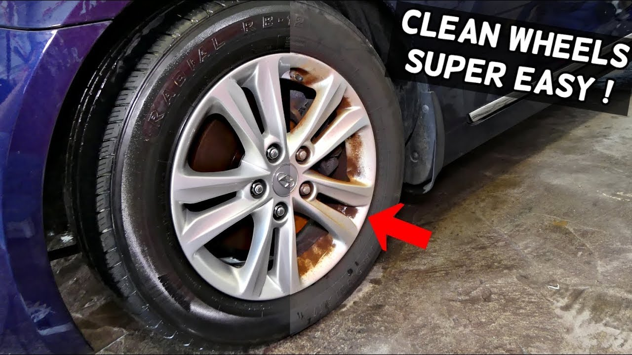 Rims For Cheap >> How To Clean Car Wheels Rims Cheap And Easy