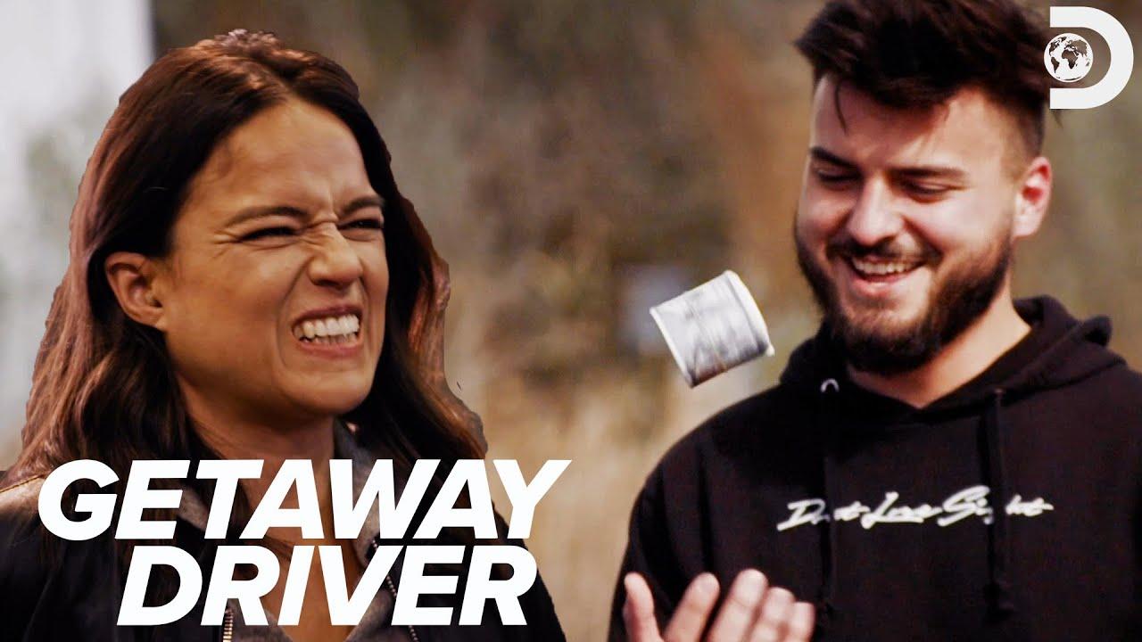Download Driver Wins Michelle Rodriguez's Money   Getaway Driver