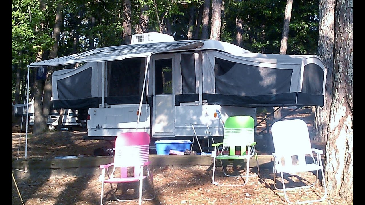 Our New Camper A 2002 Coleman Sea Pine Youtube