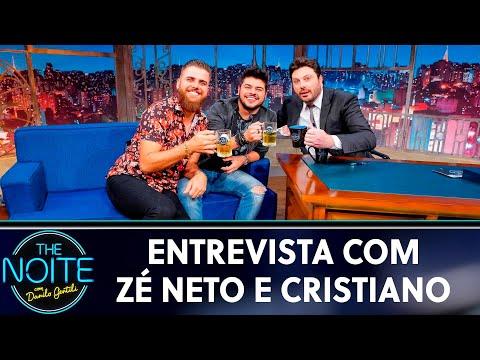 Entrevista com Zé Neto & Cristiano  The Noite 220519