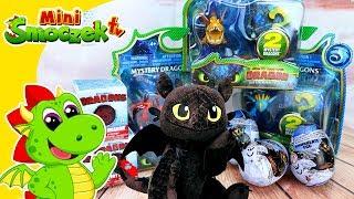 Jak wytresować smoka 3 - Jajka Niespodzianki Zabawki Bajki Dla Dzieci Po Polsku