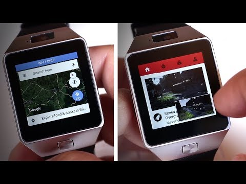 QW09 (DZ09 Upgrade)💲40 | Android 4.4 | WiFi | GPS | Youtube | Maps 🔍 #REVIEW 2