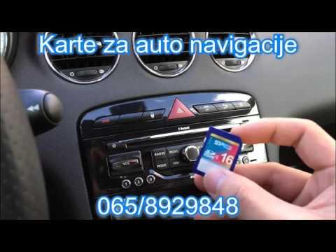 Karte Za Auto Navigacije 0658929848 Youtube