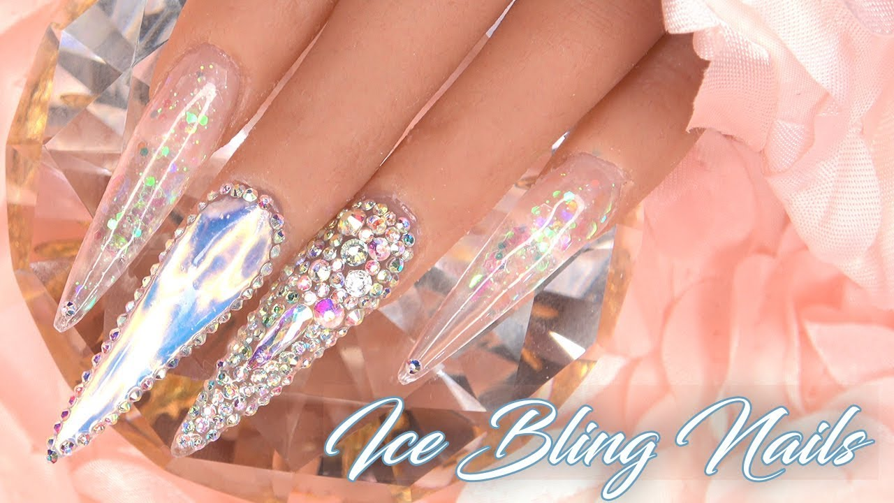 Acrylic Nails Tutorial How To Encapsulated Nails With Nail Tips