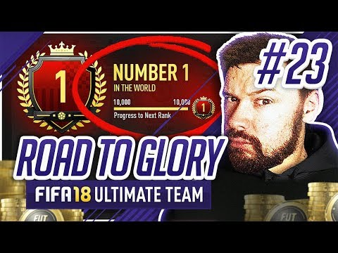 1ST IN THE WORLD! - #FIFA18 Road to Glory! #23 Ultimate Team