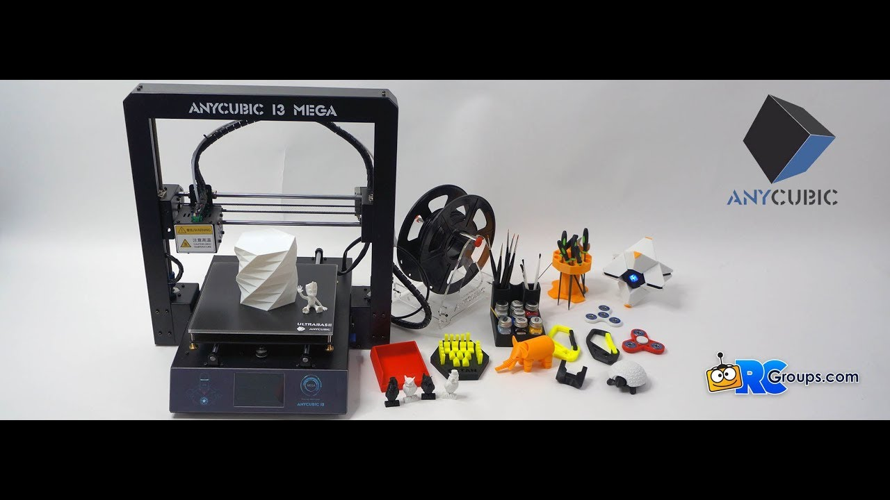 Review AnyCubic I3 Mega 3D Printer Review - RC Groups